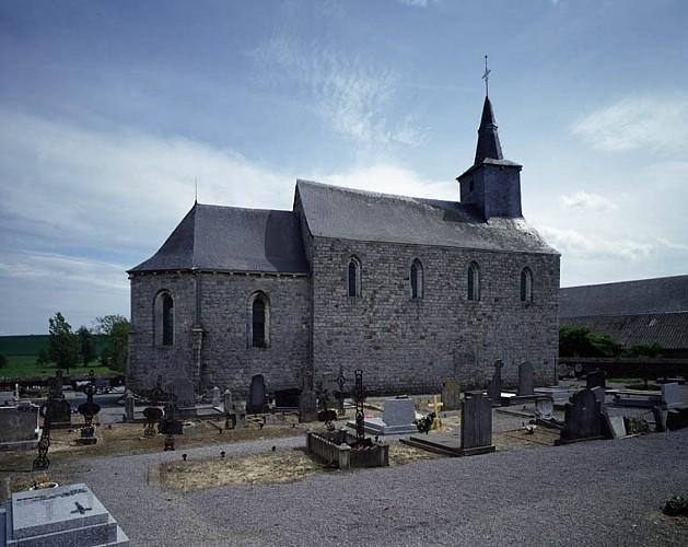 "St Catherine's chapel or ""chapelle d'Herbais"""