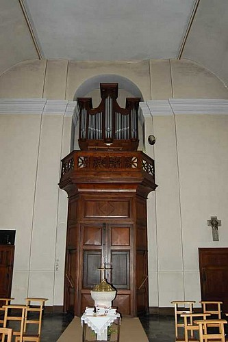 The organ of St Martin's church
