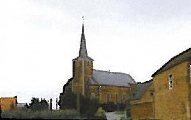 Die Kirche Sainte-Gertrude