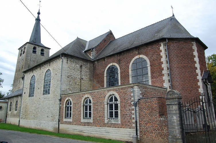 The church of Saint-Barthélemy