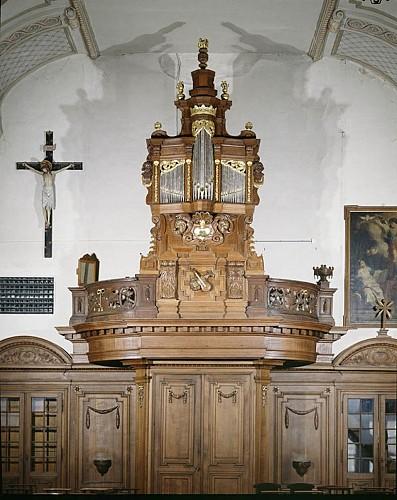 L'orgue de l'église Notre-Dame de l'Assomption