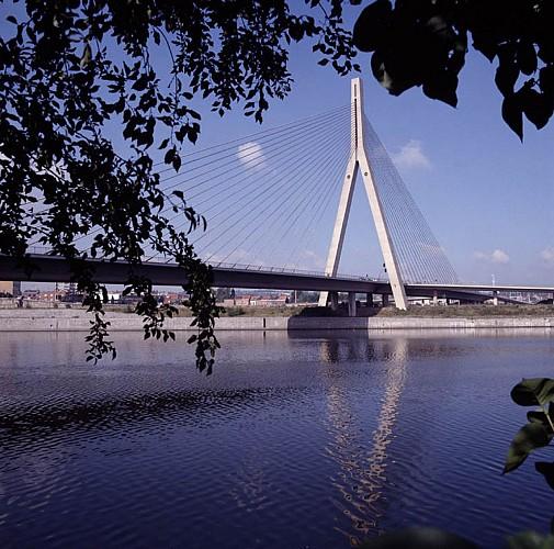 Le pont de Wandre