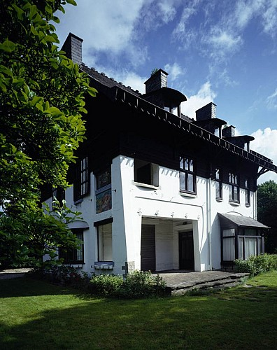 La villa « L'Aube » de Serrurier Bovy