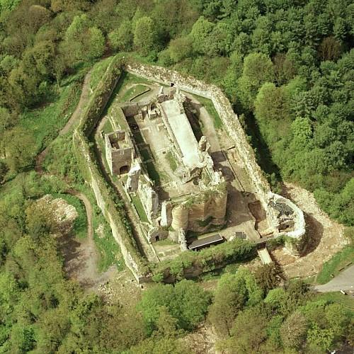 Les ruines du château fort de Franchimont