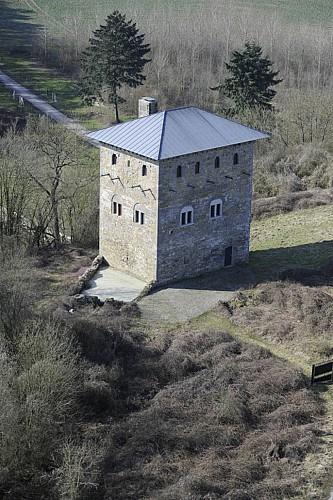 Le donjon de Villeret à Saint-Martin