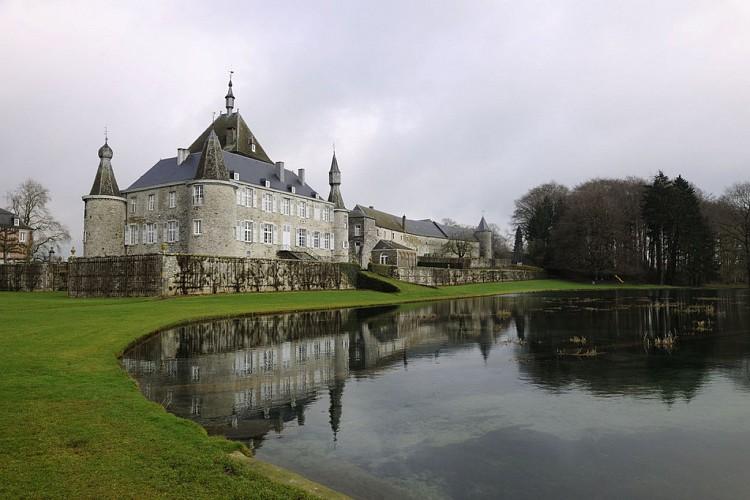 Le château d'Hodoumont