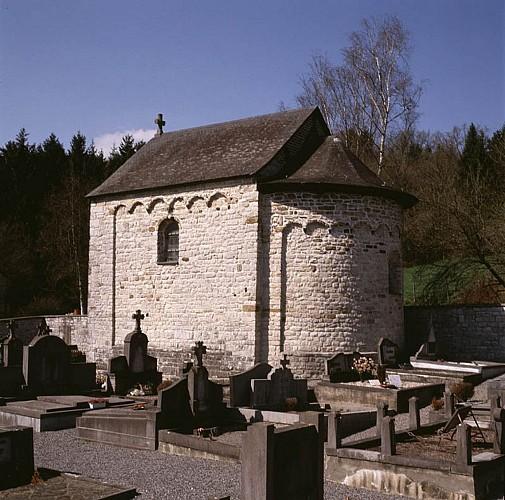 Die romanische Kapelle Saints-Pierre-et-Paul