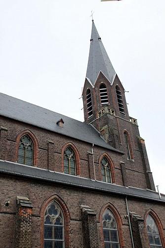 Die Kirche Saint-Léger de Papignies
