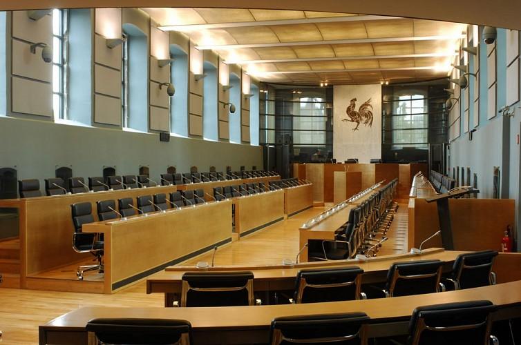 Das wallonische Parlament