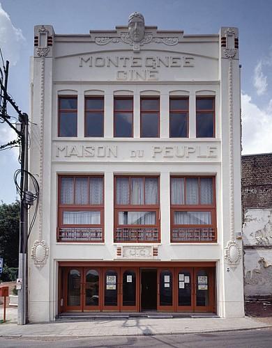 La maison du peuple de Montegnée