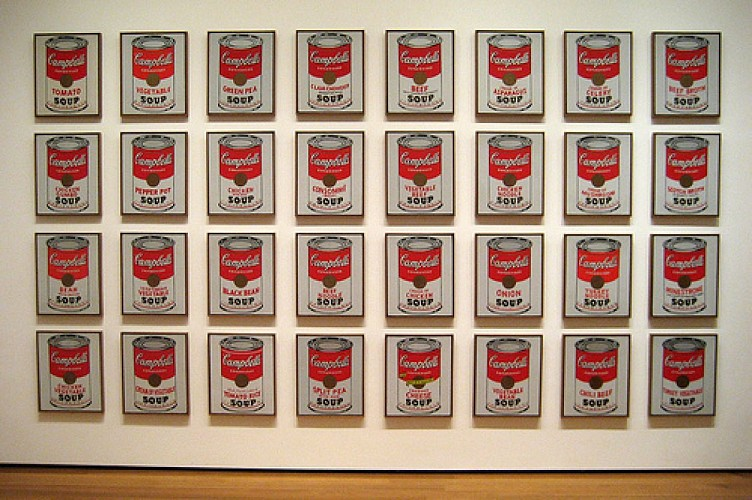 Warhol's Cans