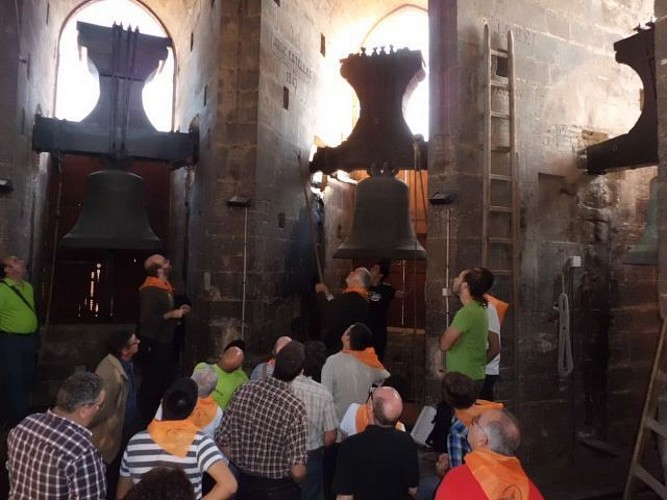 Torre del Micalet - Sala de campanes