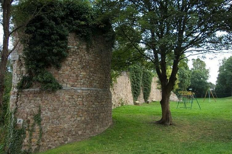 De stadsmuren