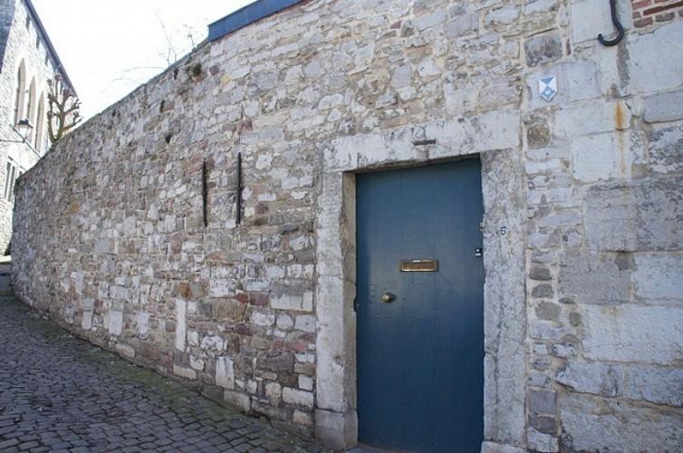 Das ehemalige Pfarrhaus Saint-Mengold