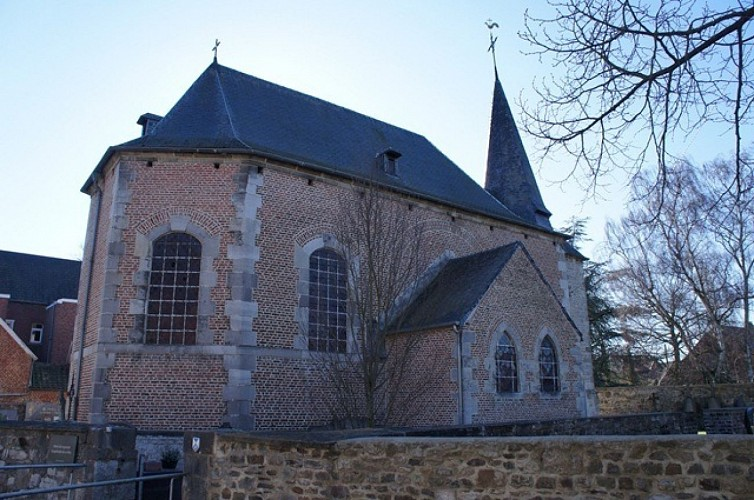 Die Kirche Sainte-Gertrude de La Neuville