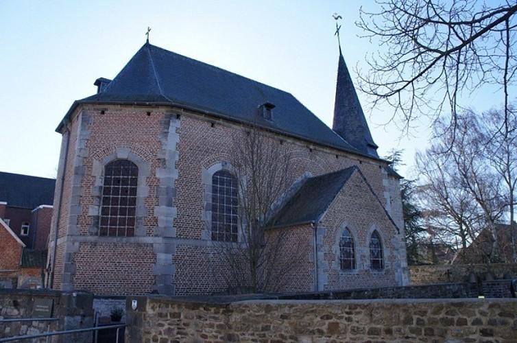 De kerk van Sainte-Gertrude van La Neuville
