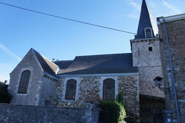 De kerk van Sainte-Marguerite de Tihange