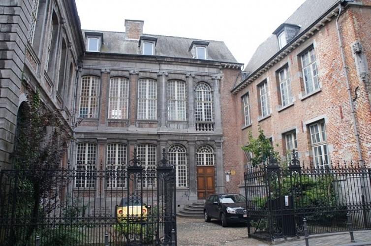 L'ancien refuge de l'abbaye de Saint-Ghislain