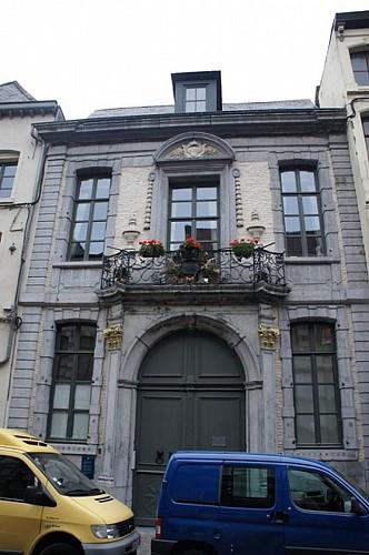 L'ancien refuge de l'abbaye d'Aulne