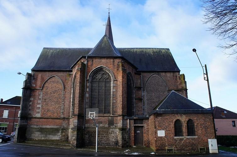 Le chœur de l'église Saint-Martin d'Havré