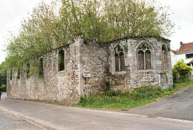 L'ancienne église paroissiale Saint-Martin de Frizet