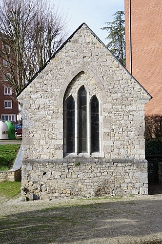 La chapelle Notre-Dame d'Hastimoulin