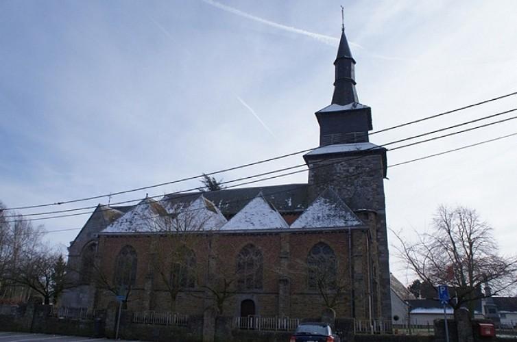 L'église Saint-Hilaire de Temploux