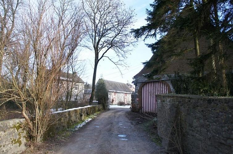 Ferme, rue de Jausse à Wierde