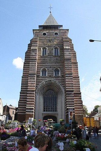 L'église Saint-Jean Baptiste