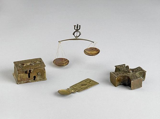Gold dust box from Ghana