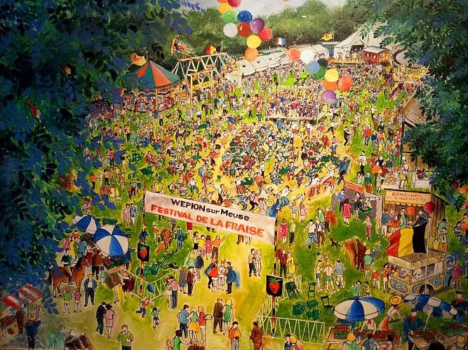 Le festival de la Fraise