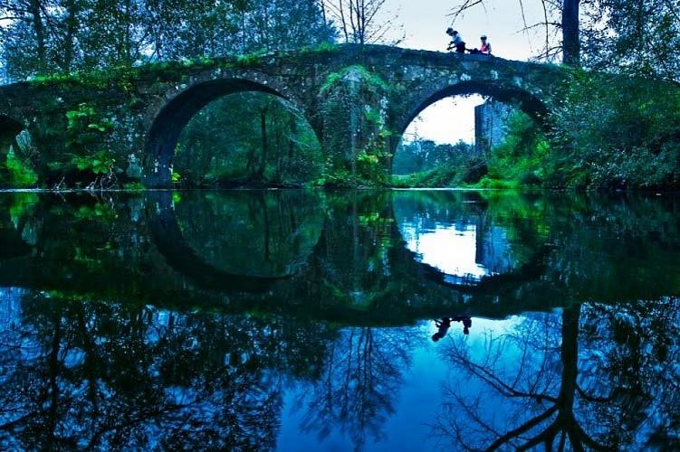 Ponte Lubiáns: Sobre a corrente do tempo