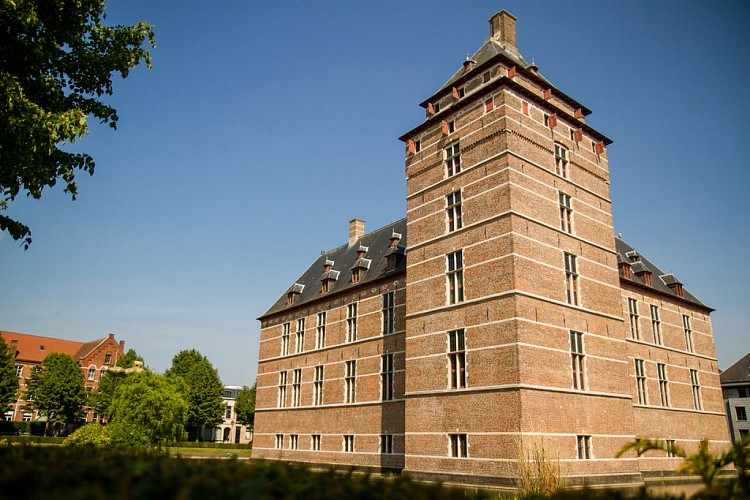 The castle of the dukes of Brabant
