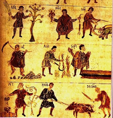 Le dépotoir carolingien