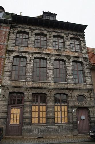 Immeuble, quai des Poissonsceaux, 24-26