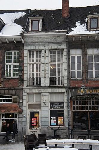 Immeuble, quai Marché-aux-Poissons, 14