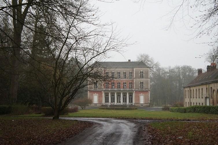 Le château de Beauregard à Froyennes
