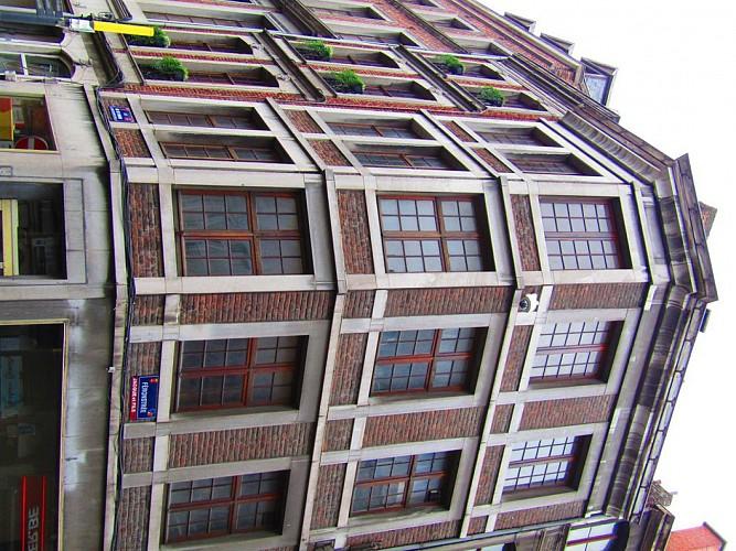 Immeuble, en Feronstrée, 1