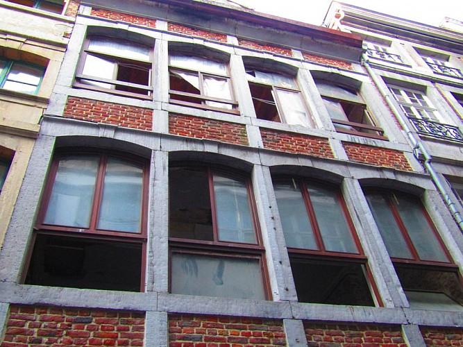 Immeuble, rue Souverain Pont, 9-11