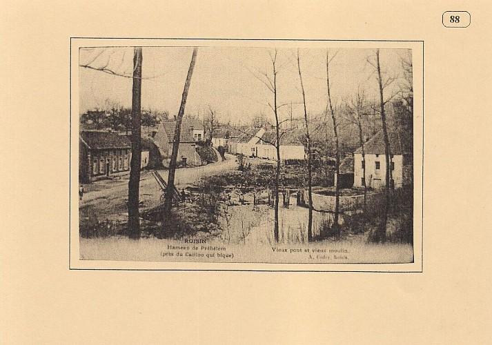 Hameau du Prébelem, vieux pont et vieux moulin