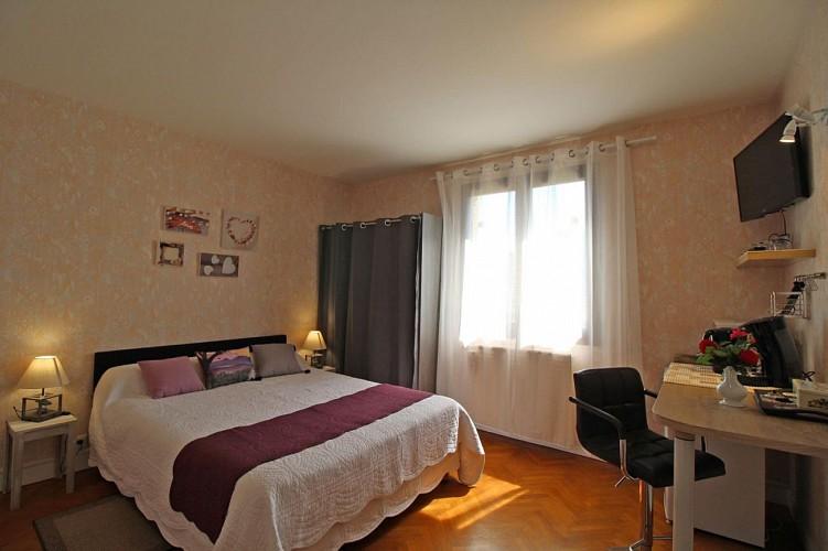 Chambres d'hôtes Gîtes de France de Thérèse et René JACQUELINE