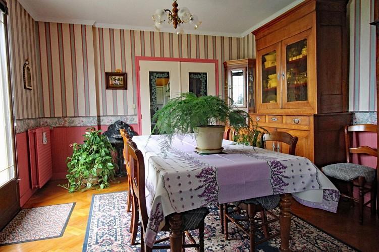 Thérèse and René Jacqueline's bed and breakfast (Gîtes de France)