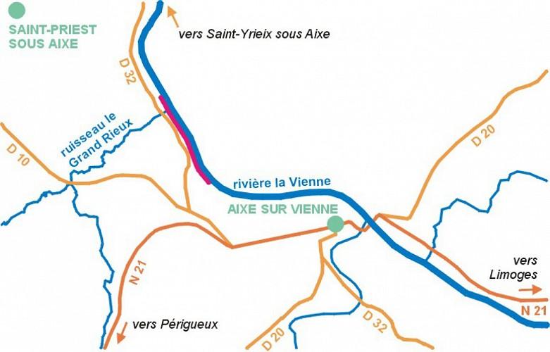 Night Carp Course in Aixe-sur-Vienne