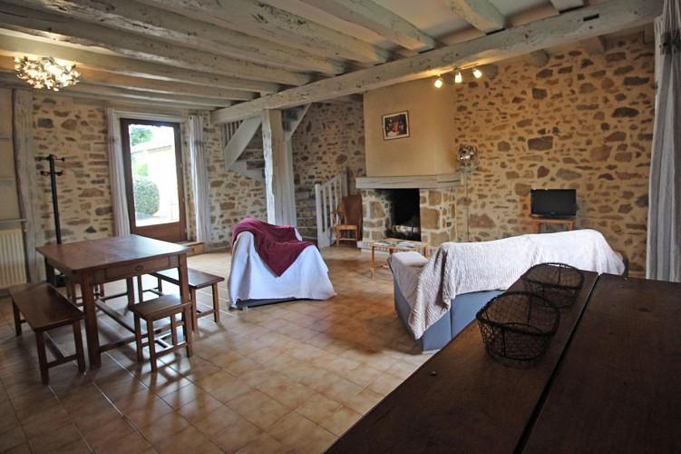 878182 - 7 people - 3 bedrooms - 3 'épis' (ears of corn) - St Brice sur Vienne - fiche 2012