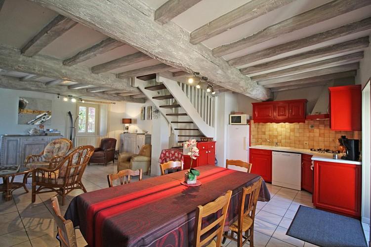 877205 - 6 people - 3 bedrooms - 3 'épis' (ears of corn) - Dournazac