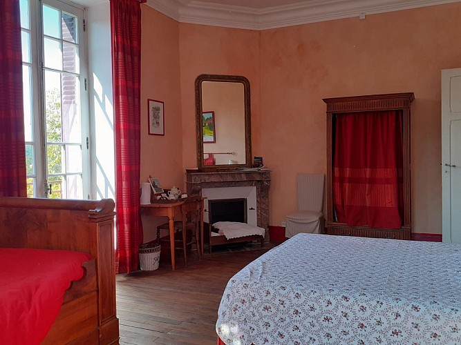 Claudine and Alain Bieri's bed and breakfast (Gîtes de France)