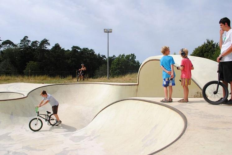 Skate Park OTRO de l'Ile de Vassivière