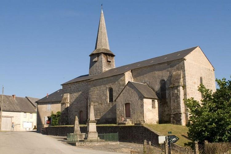 Eglise de Saint Victor en Marche