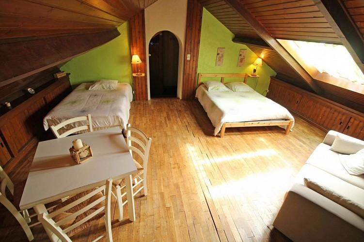 Gîtes de France chambres d'hôtes La Ferme de La Besse