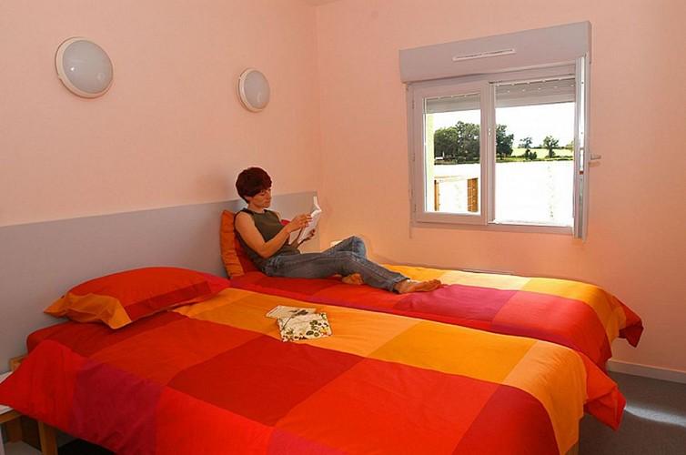 871506 - 4/6 people - 2 bedrooms - 3 'épis' (ears of corn) - Magnac Laval